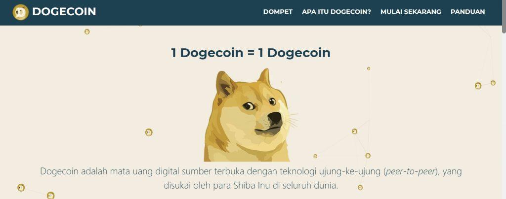 Crypto Dogecoin Doge