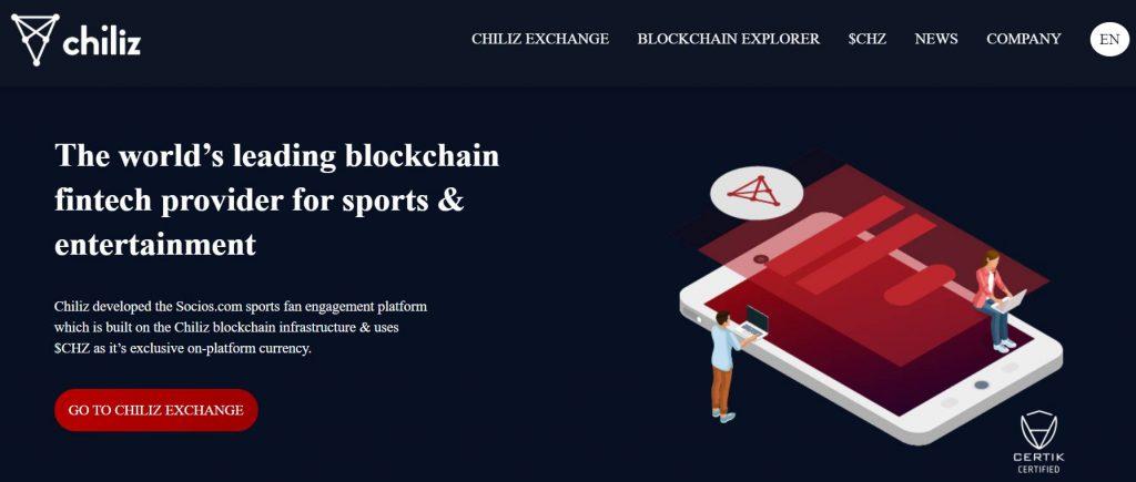 Chiliz website