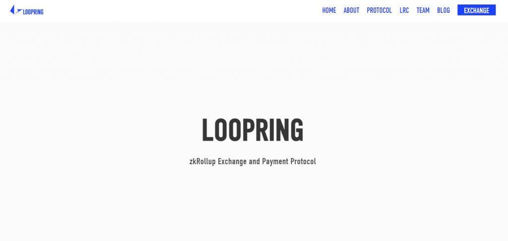 loopring lrc web